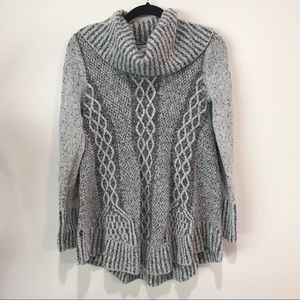 Anthropologie Kaisley Gray Coul Neck Sweater